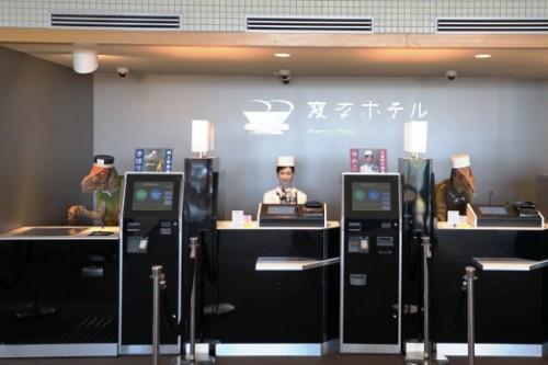 Robótica al Extremo - Un hotel en Tokio es atendido por Robots.