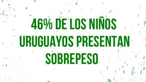 Obesidad y sobrepeso en niñas y niños uruguayos causa preocupación