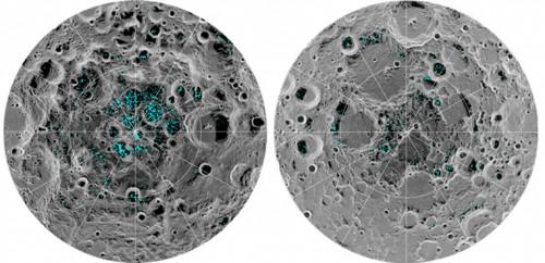 Confirman Presencia de Hielo en la Superficie de la Luna