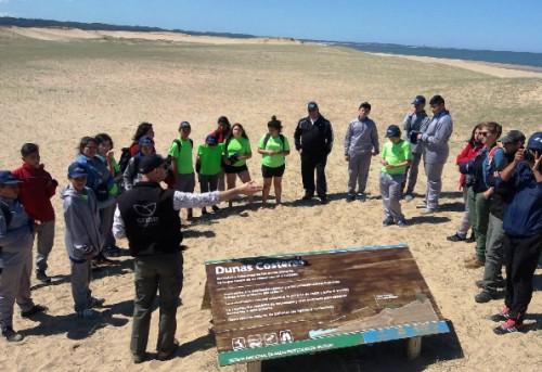 Niños Chilenos visitaron nuestras áreas de conservación