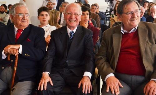Homenaje a Mario Menéndez, Ignacio Otegui y Julio Sánchez Padilla