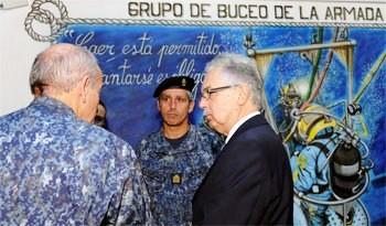 Ministerio de Defensa reconoció trabajo del Grupo de Buceo y Salvamento de la Armada en Carmelo y José Ignacio