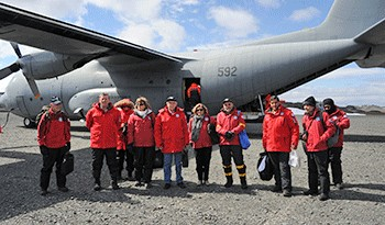 Gabinete Interministerial en Asuntos Antárticos de Uruguay se reúne en la Base Artigas