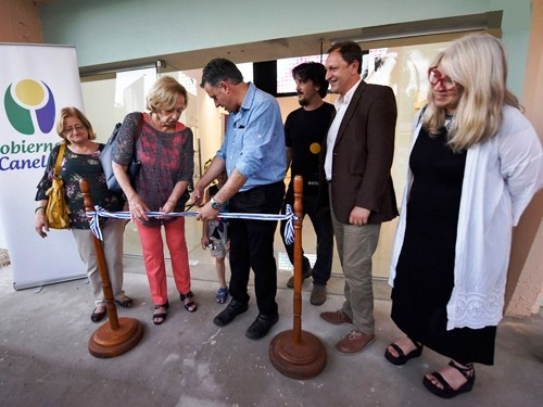 Se inauguró la primera Usina Cultural a solicitud de artistas locales en Canelones