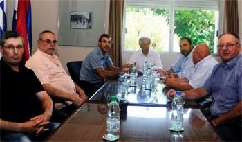 Presidente Tabaré Vázquez mantuvo encuentro con representantes del Centro de Viticultores del Uruguay