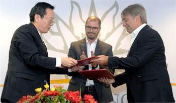 Uruguay recibe nueva colaboración en artículos deportivos de China que completan 8,5 millones de dólares