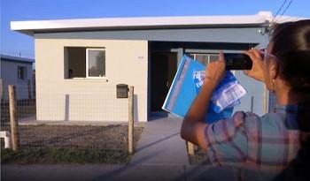 Vivienda finalizó realojo de 90 familias del asentamiento Mailhos del barrio montevideano Paso de la Arena