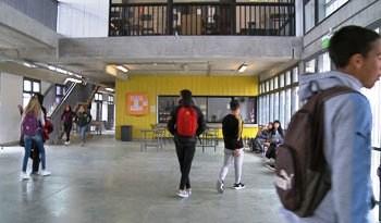 Nuevo liceo de tiempo extendido en barrio montevideano de Piedras Blancas ofrece amplias instalaciones a 500 alumnos
