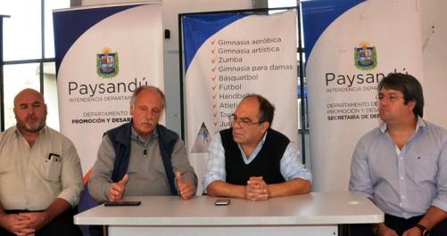 Acuerdo entre la Intendencia de Paysandú y la Federación Uruguaya de Handball