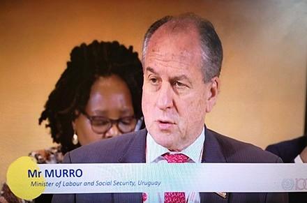 Uruguay en la lista negra de la OIT - Descargos del ministro Murro