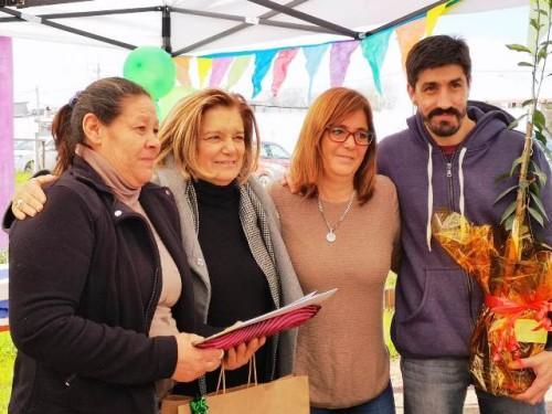 Participantes de Plan Juntos celebran una nueva inauguración