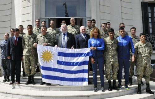 Juegos Mundiales Militares en China, participarán deportistas Uruguayos
