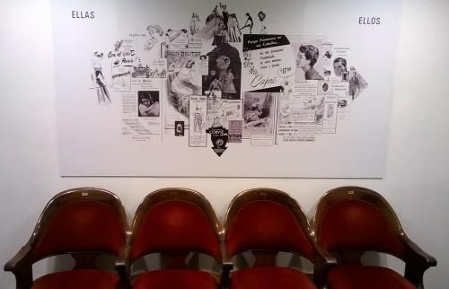 Exposición en el Teatro Solis