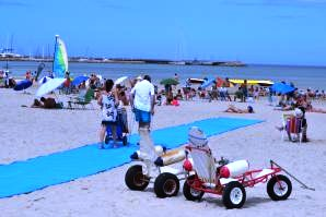 Piriápolis, playa accesible