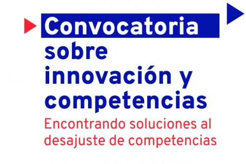 Convocatoria sobre innovación y competencias