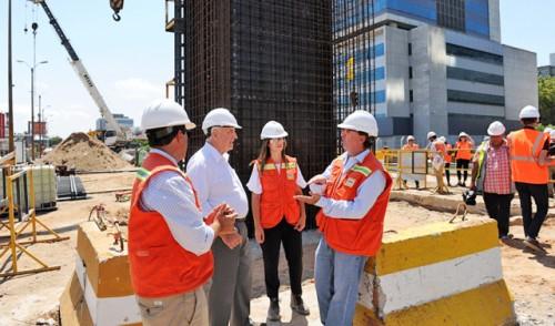 Construcción de viaducto sobre rambla Sudamérica en Montevideo finalizará en segundo semestre de 2021