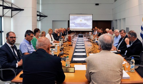 Presidente Vázquez encabezó el último Consejo de Ministros del período