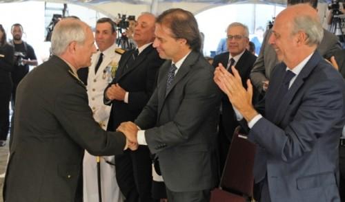 Marcelo Montaner asumió como jefe del Estado Mayor de la Defensa