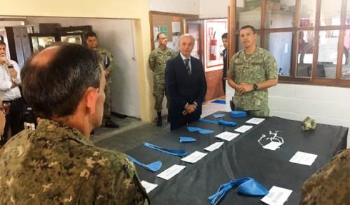 Ejército Nacional fabricará 20.000 tapabocas en 20 días para el Ministerio de Salud Pública