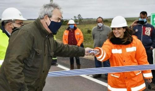 Ministerio de Transporte inauguró tres tramos de la ruta 14 entre Flores y Sarandí del Yí
