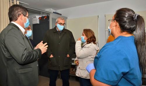 Centro auxiliar de Las Piedras funcionará como hospital de ASSE