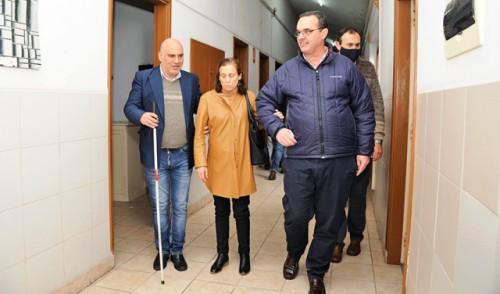 Tras cuatro años, reabrió centro Tiburcio Cachón para personas ciegas y con baja visión