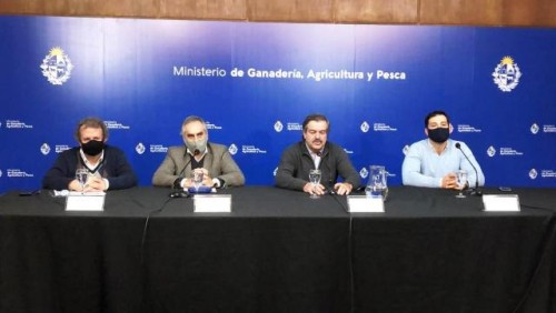 China destacó transparencia de Uruguay ante la inmediata comunicación de un caso Covid positivo en Frigorífico Carrasco