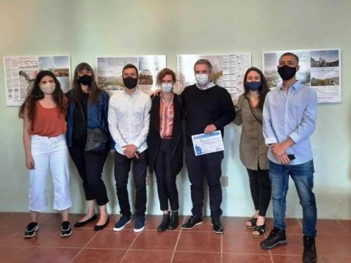 Premiación del concurso de ideas para proyecto urbano en Durazno