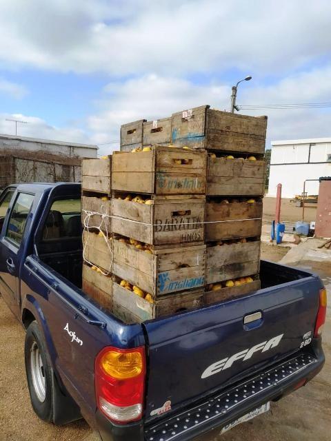 Productores rurales donan alimentos al Ministerio de Desarrollo Social