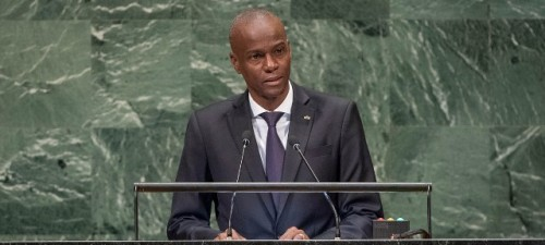 La ONU condena el abominable asesinato del presidente haitiano Jovenel Moïse