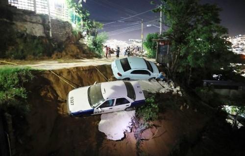 Un fuerte terremoto de 7,1 en centro y sur de México deja hasta el momento un fallecido