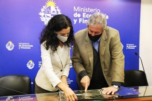 Antía y Arbeleche dieron el puntapié para crear nueva zona franca en El Jagüel